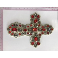 bead cross patch